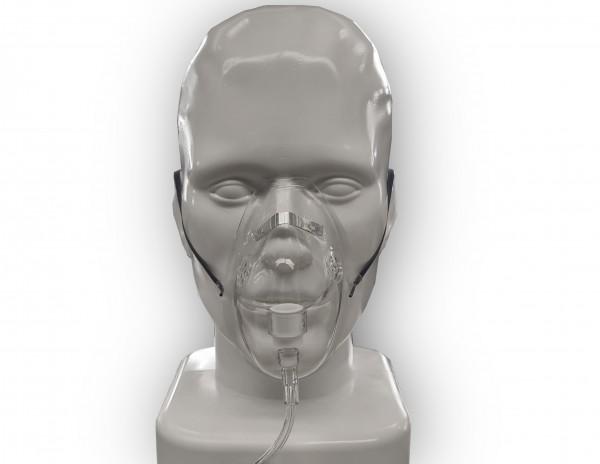 Sauerstoffmaske mit 2,1m Sicherheitsschlauch