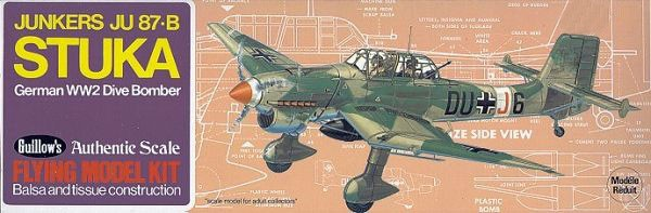 Junkers JU-87B Stuka Balsabau
