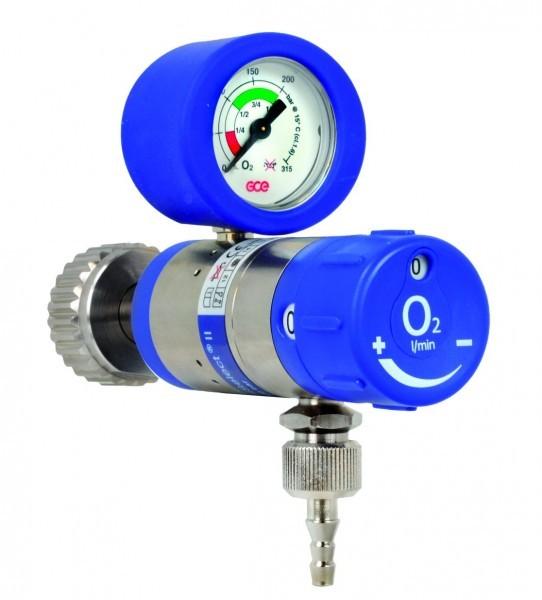 MediSelect 6 O2 D Druckminderer 0-6l lang