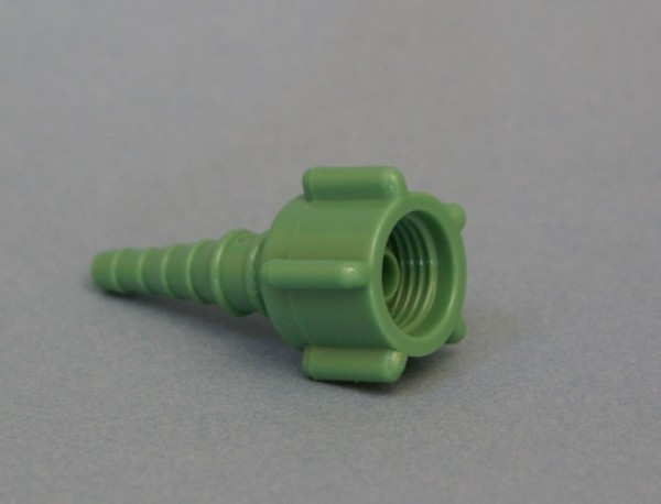 Konnektor grün DISS O2 Verbindungsstück
