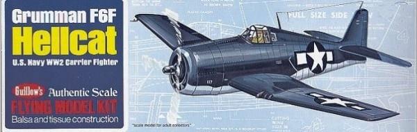Grumman F6F Hellcat Balsabaus