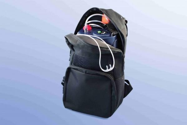 Rucksack für tragbare Flüssigsauerstoffgeräte