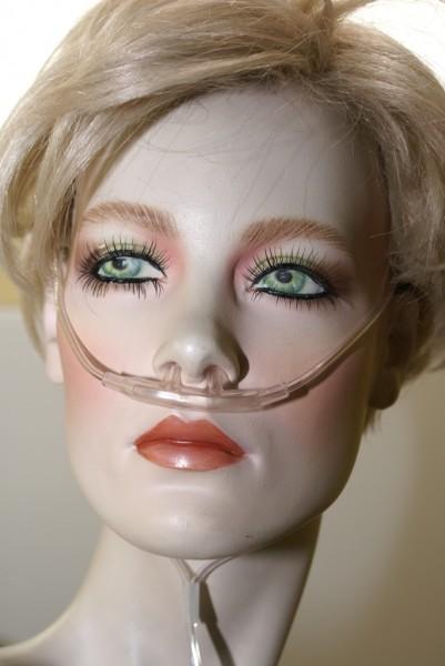Sauerstoffbrille Weich mit 2.1m Schlauch